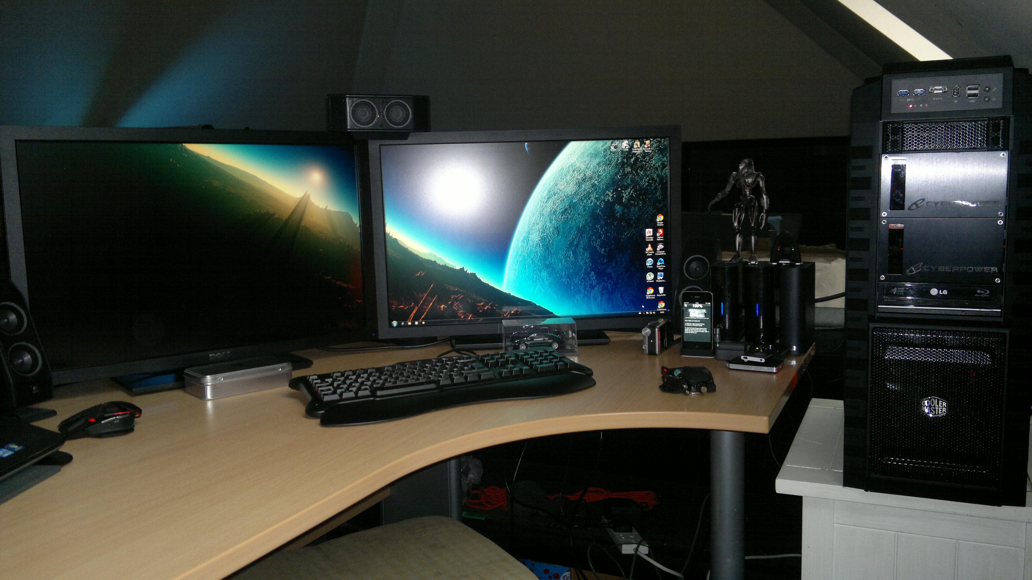 Computer Gaming Setup