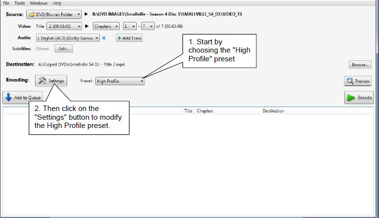VidCoder Settings Tutorial - High Quality H.264 (x264) MKV Video Encoding-1-vidcoder-mainmenu.png