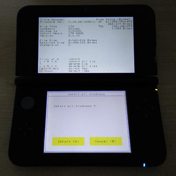 Gateway Emunand Offline Update for Nintendo 3DS / 3DS XL and 2DS