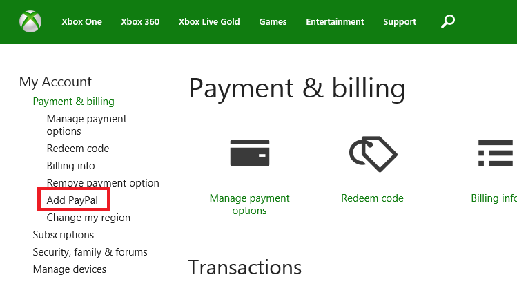 Step by Step Guide to purchasing Games from US Xbox One