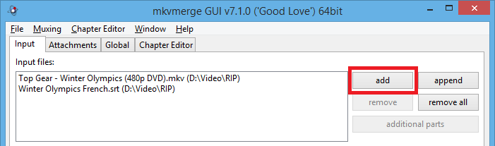 mkv editor without re encode