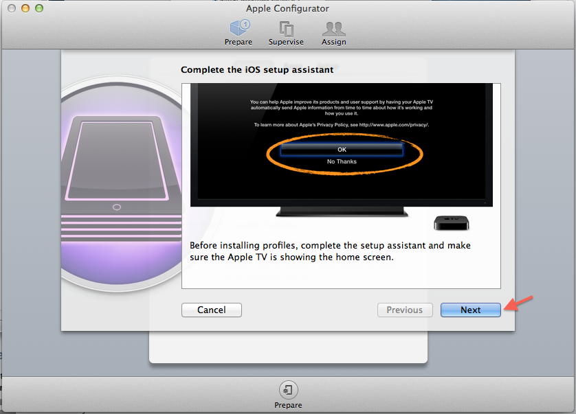 Step by Step Guide - Installing an SSL certificate on Apple TV and