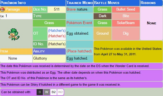 Pokemon Toys R Us Secret Eggs Distribution NDS Rom Download [USA