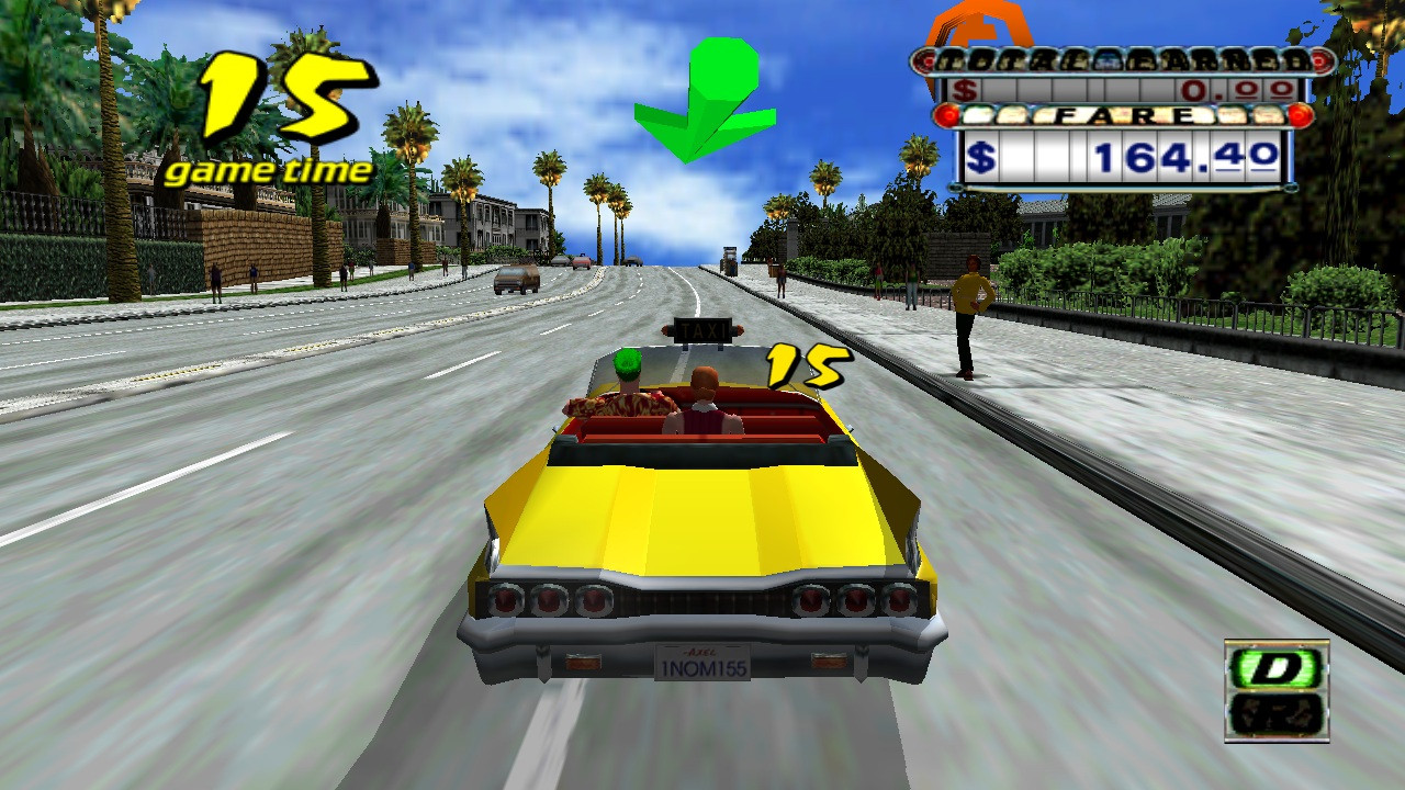 Unannounced XBLA games and screenshots leaked, including Crazy Taxi and Quake Arena.-crazy-taxi.jpg