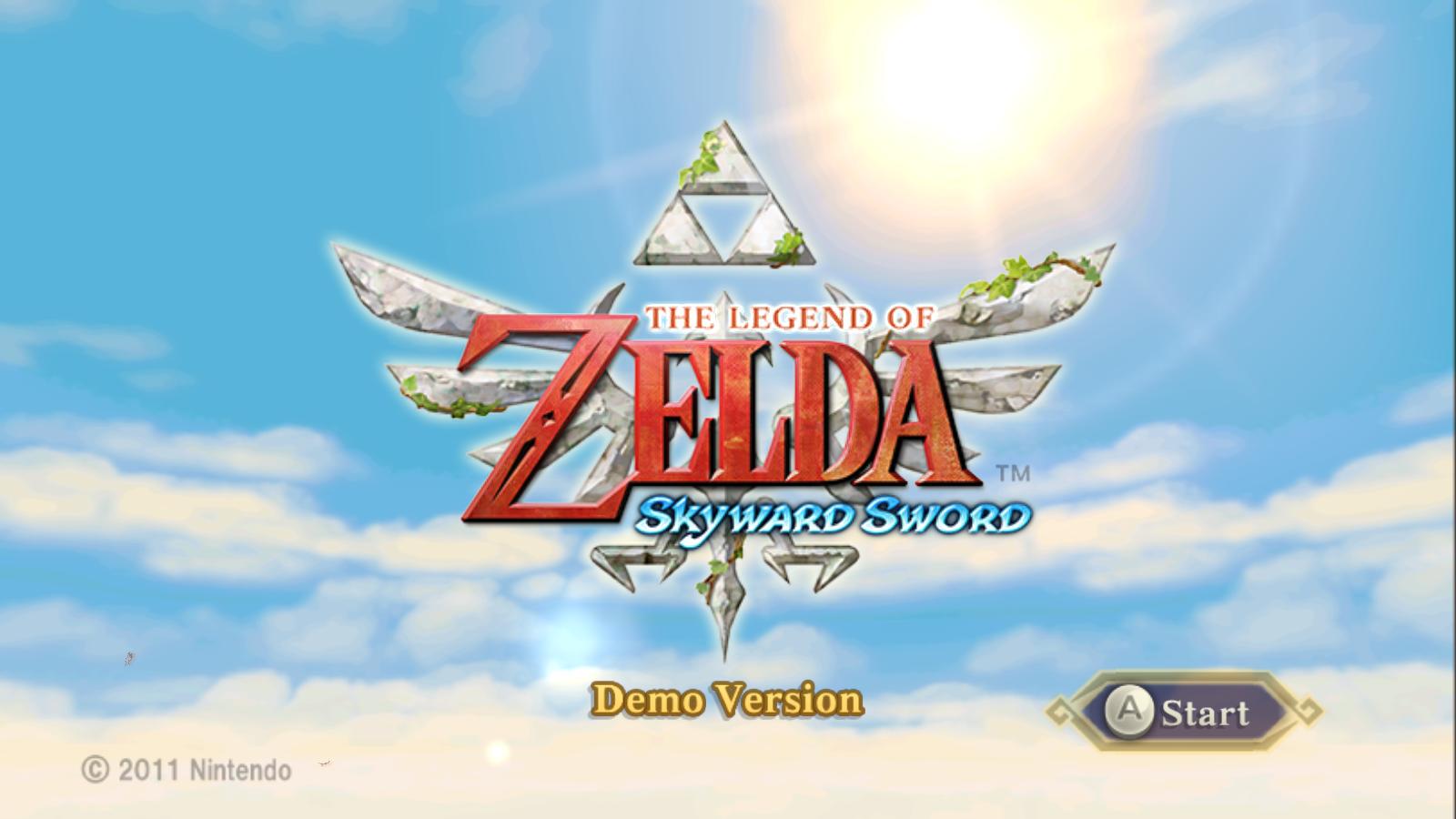 Skyward Sword Iso