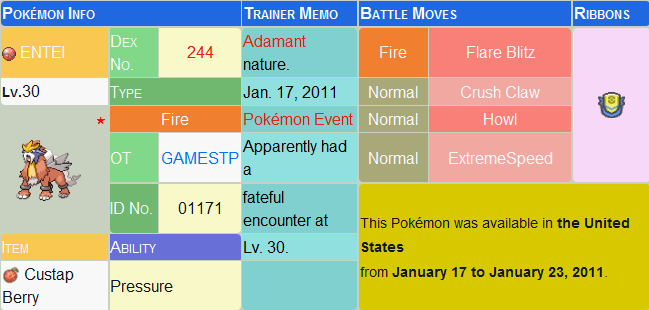 NDS Pokemon Distribution 2011 Event Rom [USA Gamestop]-entei.png