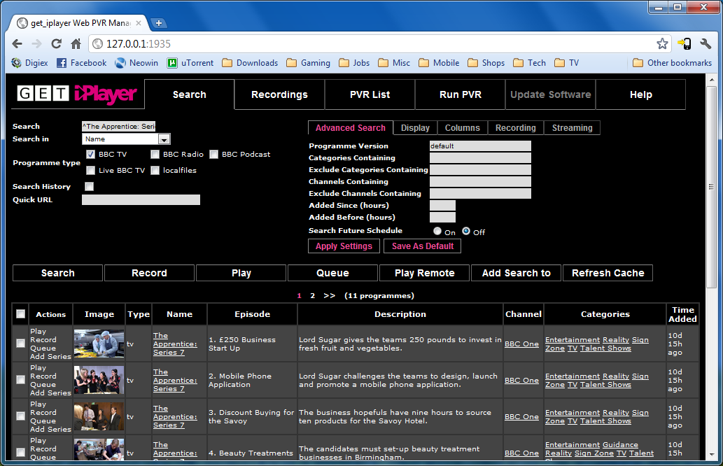 Download BBC iPlayer content with no DRM using Get iPlayer