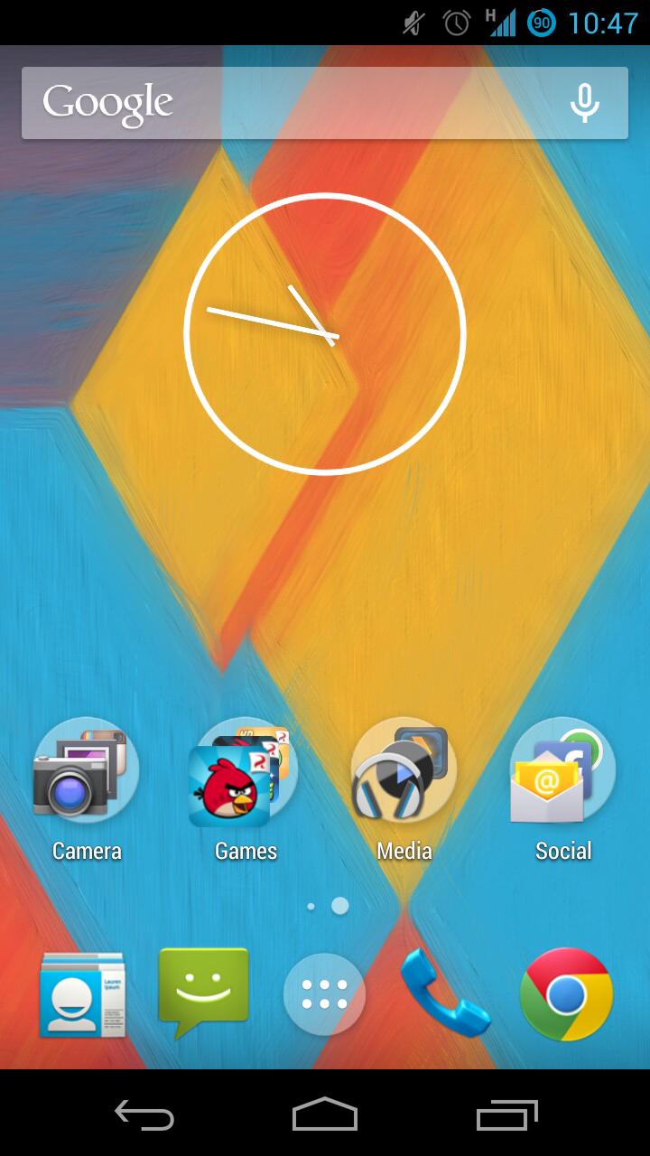 Google Experience Launcher APK Download [Nexus 5 Launcher