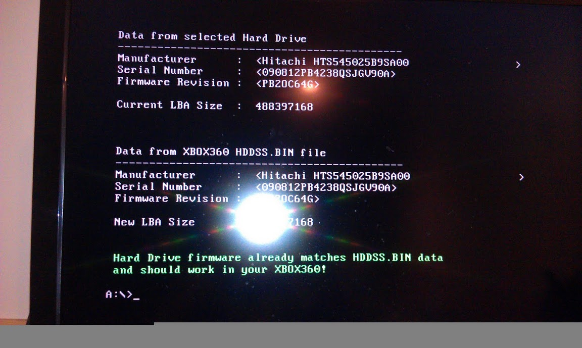 Hack a 250gb, 320gb or 500gb Sata harddrive to work in the Xbox 360 and Xbox 360 Slim-imag0076.jpg