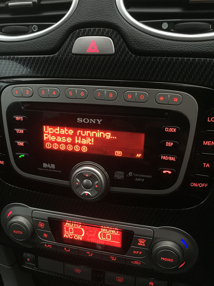 Ford Audio Bluetooth Usb Firmware Update November 2012 Release