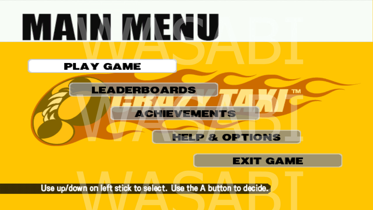 Unannounced XBLA games and screenshots leaked, including Crazy Taxi and Quake Arena.-mvvje.jpg