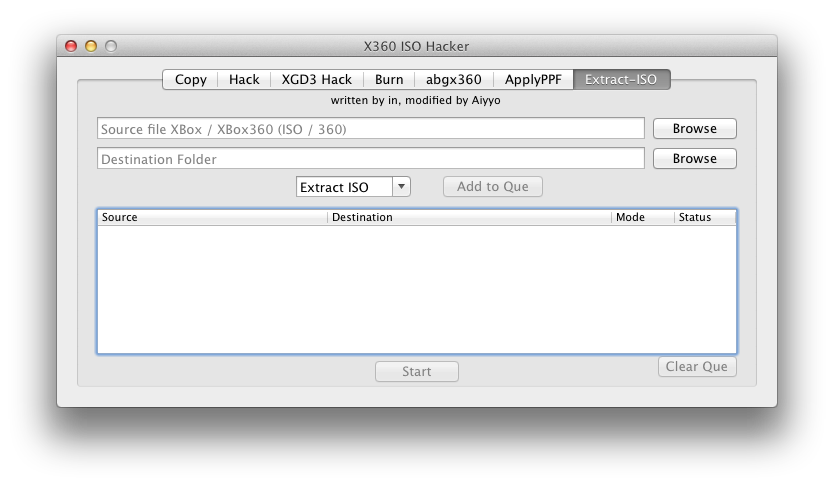 XBox 360 ISO Hacker Utility v5 for Mac OSX Download | Digiex
