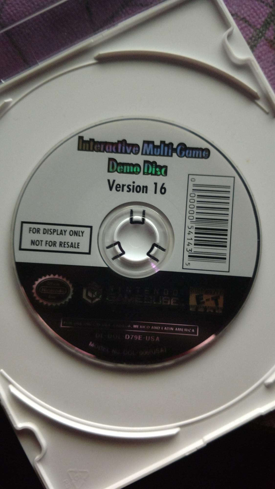 GameCube Interactive Multi-Game Demo Disc 14 [Berry Glitch