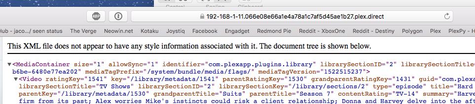 Plex Token - XML.png