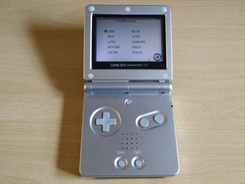 Pokemon 10ANNIV Distribution Cartridge GBA Download [ENG