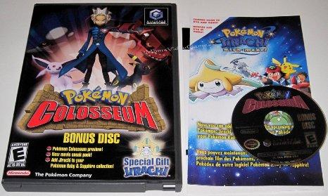 Pokemon Colosseum USA Bonus Disc Download [NTSC GameCube] | Digiex