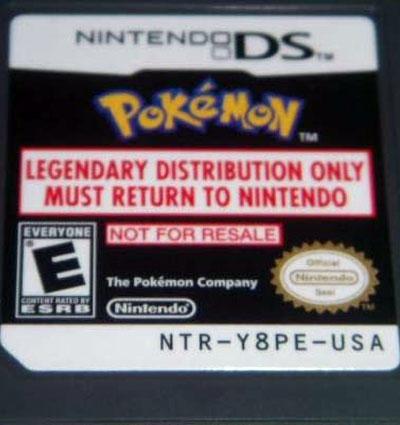 Pokemon GameStop Legendary Beasts Distribution Entei, Raikou