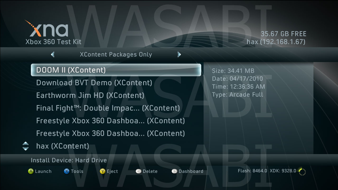 Unannounced XBLA games and screenshots leaked, including Crazy Taxi and Quake Arena.-q4umw.jpg