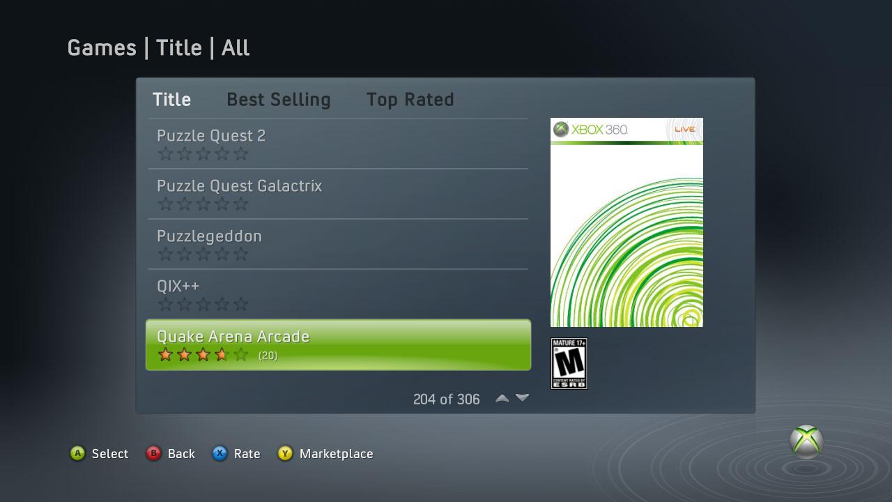 Unannounced XBLA games and screenshots leaked, including Crazy Taxi and Quake Arena.-quake-arena-arcade-2-.png