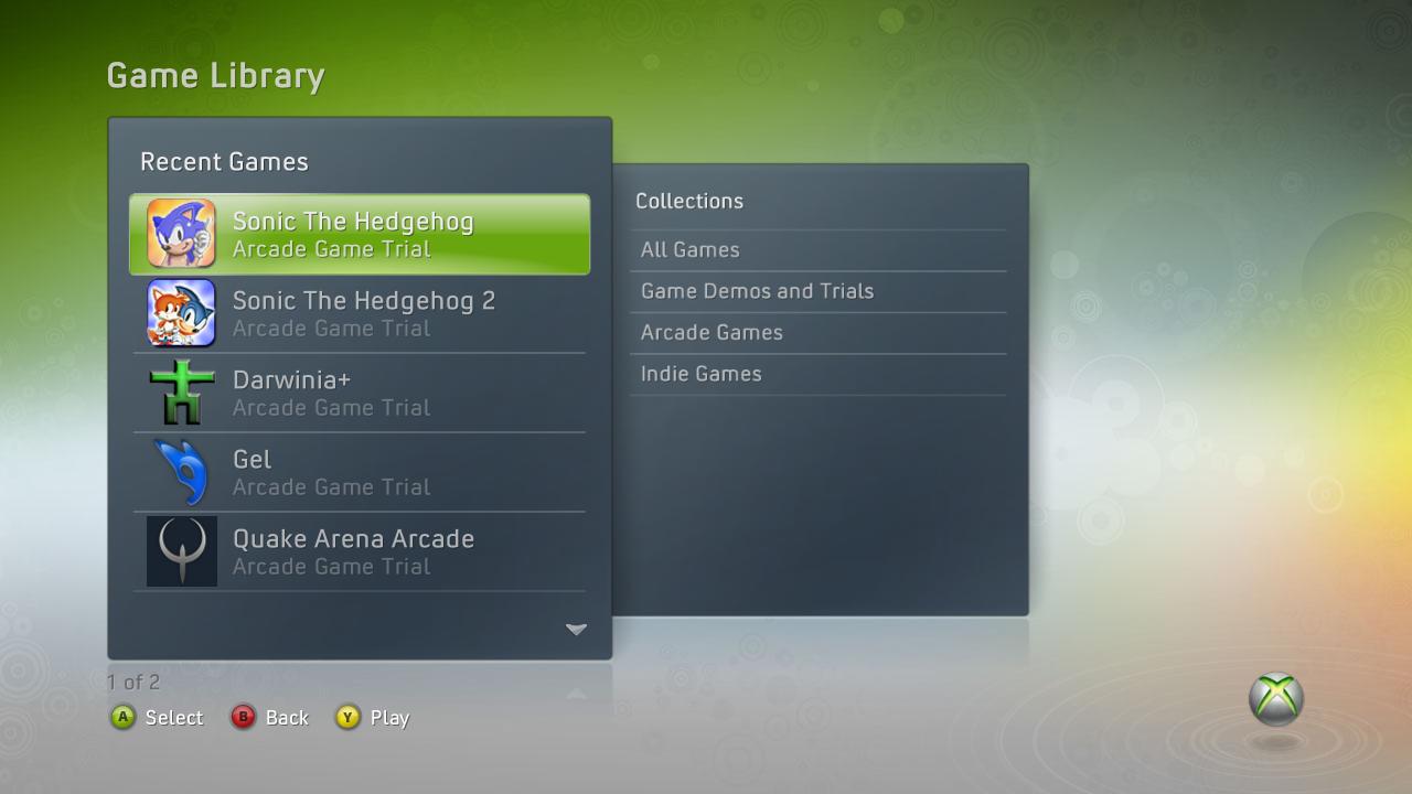 Unannounced XBLA games and screenshots leaked, including Crazy Taxi and Quake Arena.-quake-arena-arcade-dashboard.png