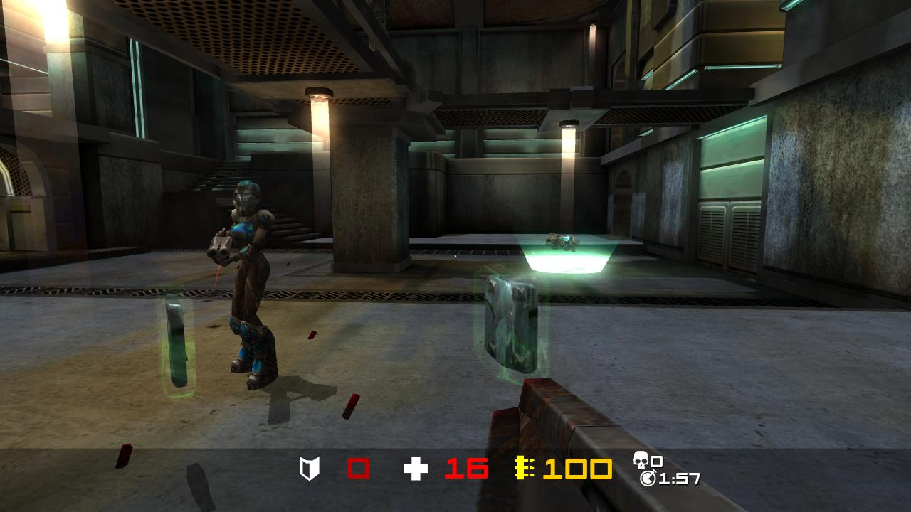 Unannounced XBLA games and screenshots leaked, including Crazy Taxi and Quake Arena.-quake-arena-arcade-ingame.jpg