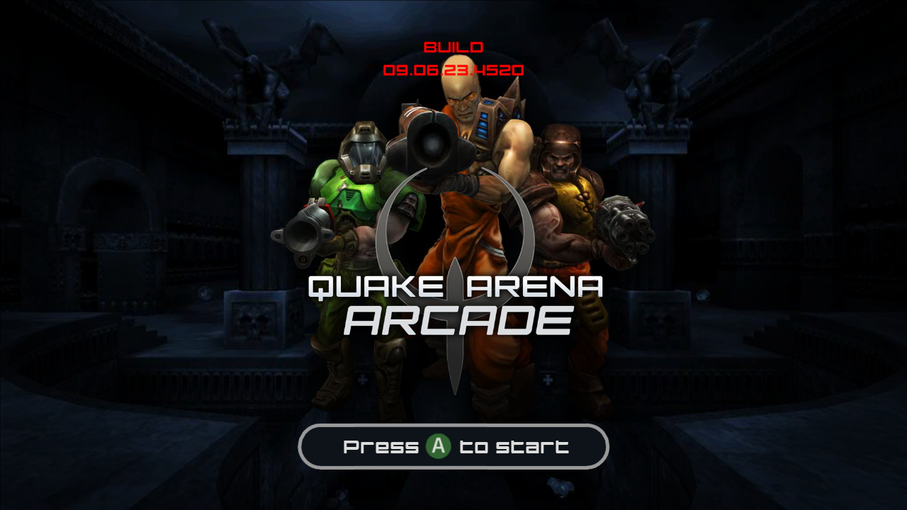 Unannounced XBLA games and screenshots leaked, including Crazy Taxi and Quake Arena.-quake-arena-arcade.png