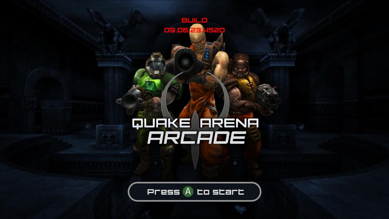 Unannounced XBLA games and screenshots leaked, including Crazy Taxi and Quake Arena.-quake-arena-arcade.png