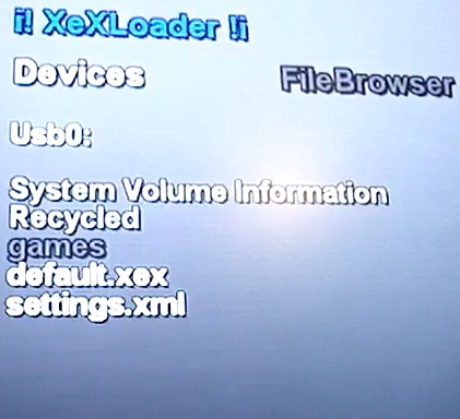 XeX Loader 0.12 - Loader for 360 Apps and Homebrew-screen2.jpg