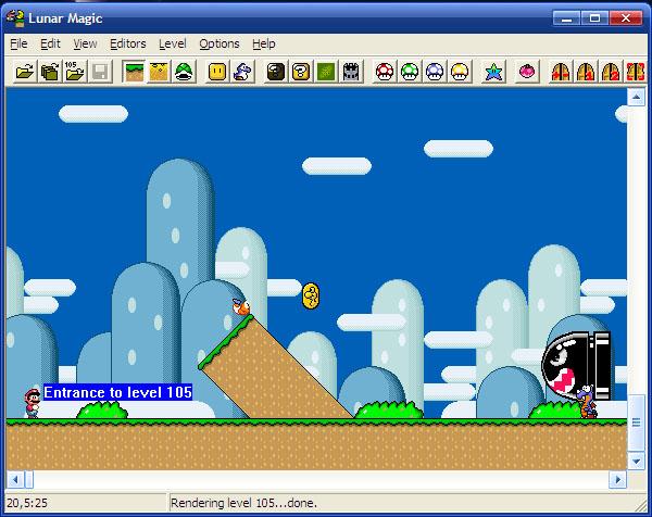 [SNES] Lunar Magic - Snes Super Mario World Level Editor-screenshot-1.jpg