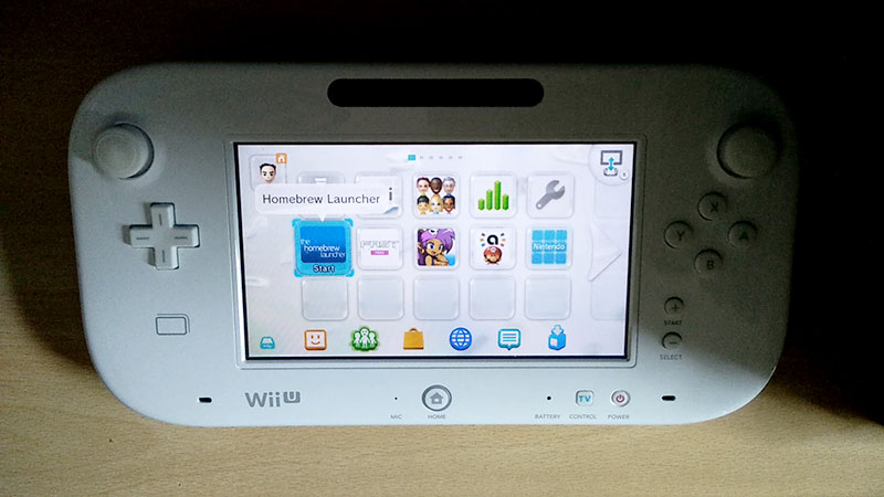 homebrew launcher wii u 5.5.2