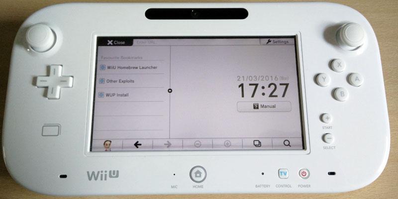 easy nintendo wii u homebrew channel hack guide 5 3 2 5 4 5 5 1 rh digiex net wii u manual internet setup Setting Up a Wii Controller