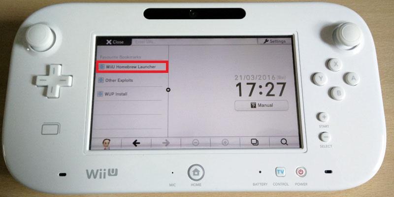Easy Nintendo Wii U Homebrew Channel Hack Guide [5 3 2, 5 4, 5 5 1