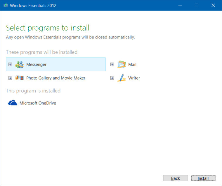Windows Live Essentials 2012 Offline Installer Download 16 4
