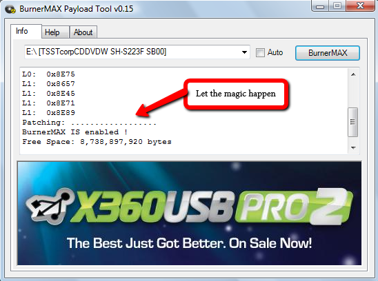 Burn Xbox 360 XGD3 ISO Games With The BurnerMAX Payload Tool | Digiex