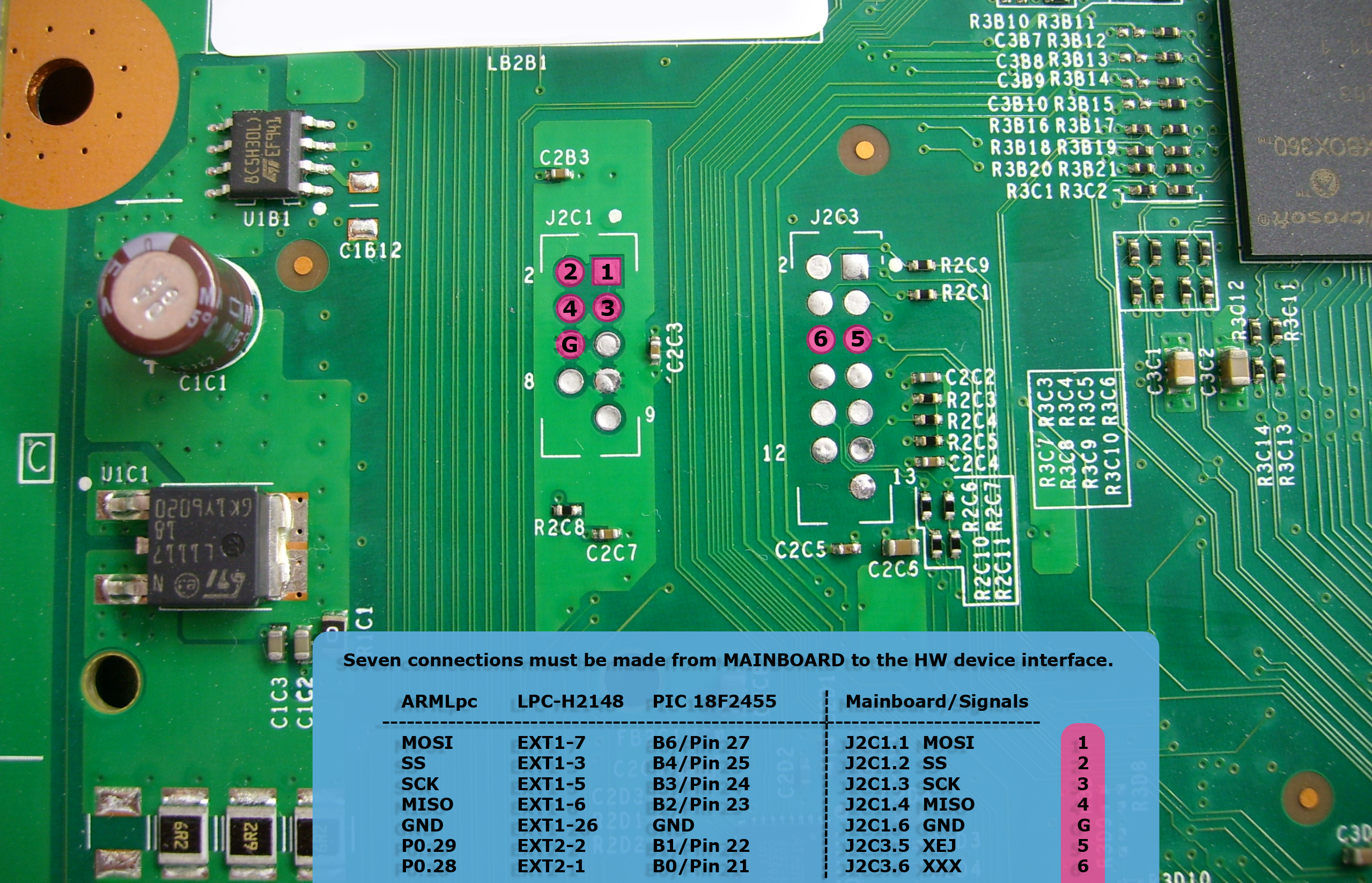 how to wire up a nand x on the xbox 360 slim digiex on Gps Tracker Wiring Diagram for xbox360_slim_nandpro_lpch2148_pic18f2455_diagram png at Xbox One Controller Wiring Diagram