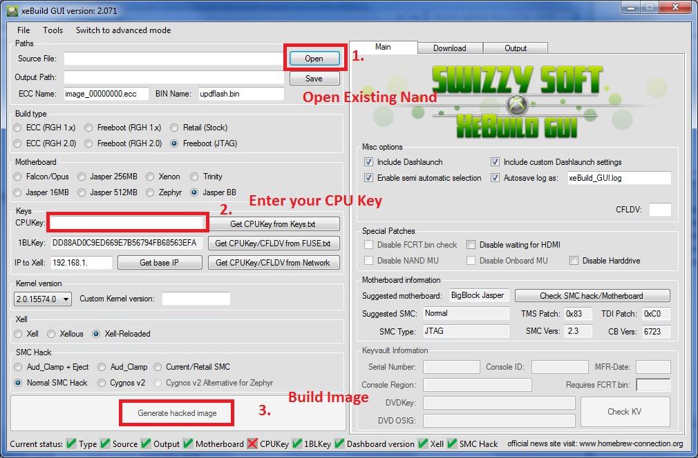xeBuild GUI 2.096 - 17349 GUI Nand Builder for Jtag / RGH Xbox 360 Consoles-xebuild-gui.jpg