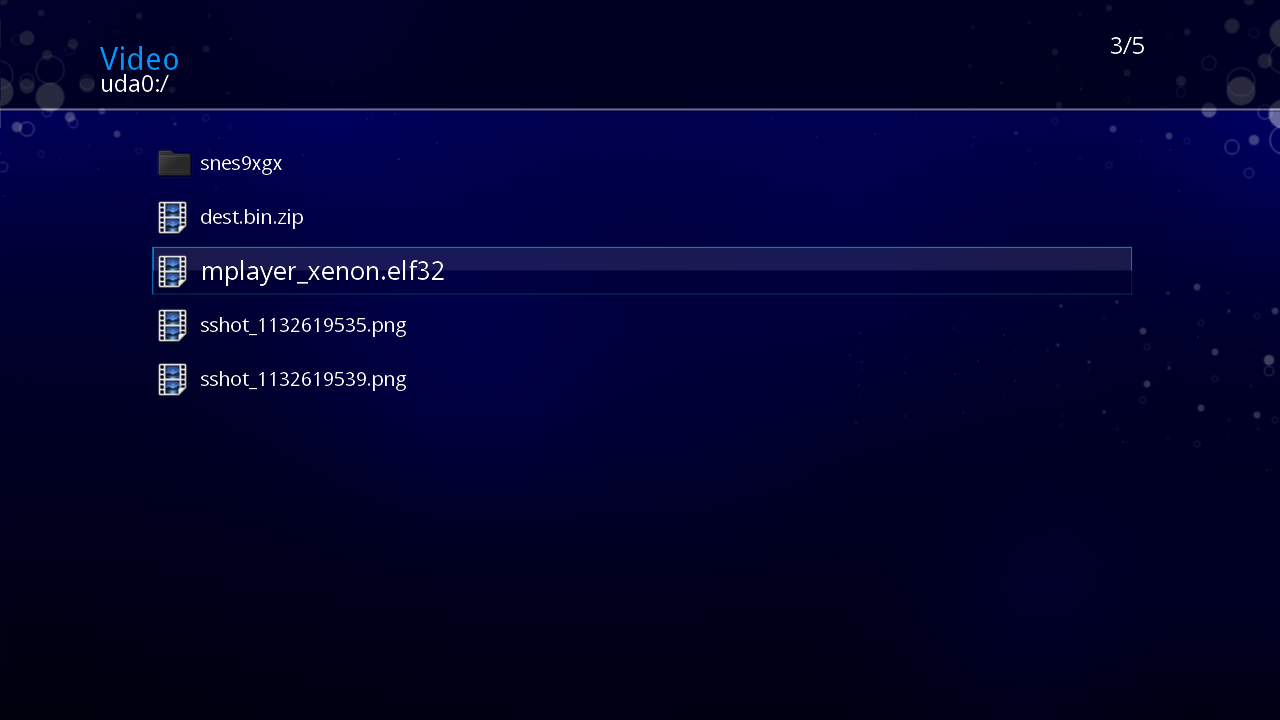 XMPlayer - MPlayer Port for Xbox 360 - Plays HD MKV (Jtag RGH) | Digiex