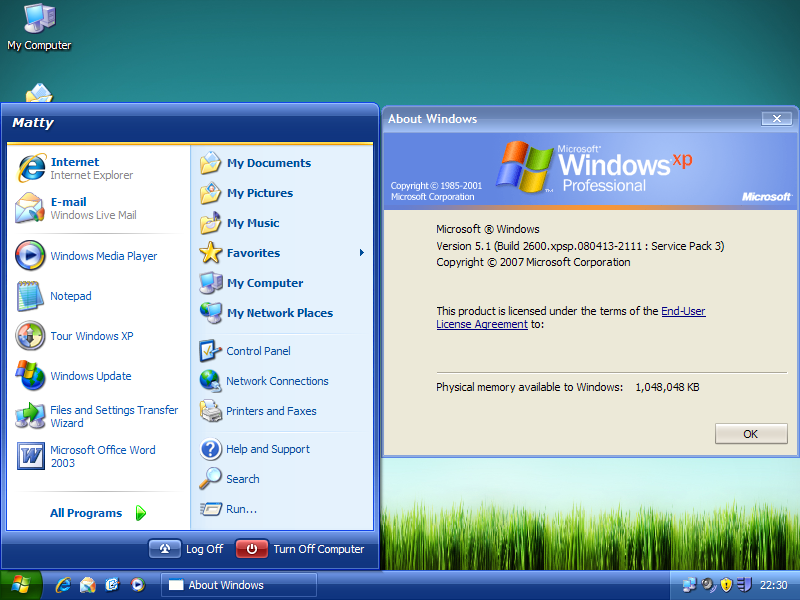 Windows XP SP3 Ux Theme Patch (Home, Pro, Media Center